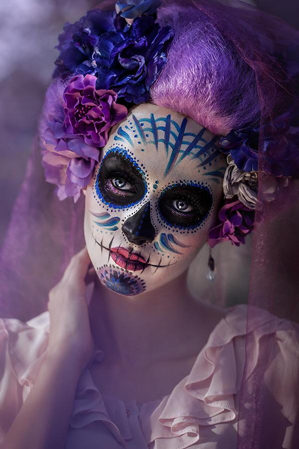 Día De Muertos For Halloween Haute Passport