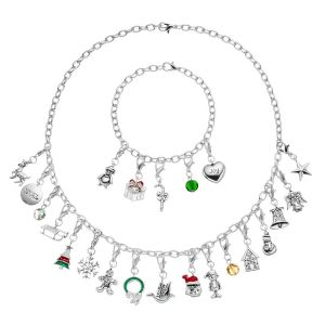 Advent Calendar Christmas Charm Set
